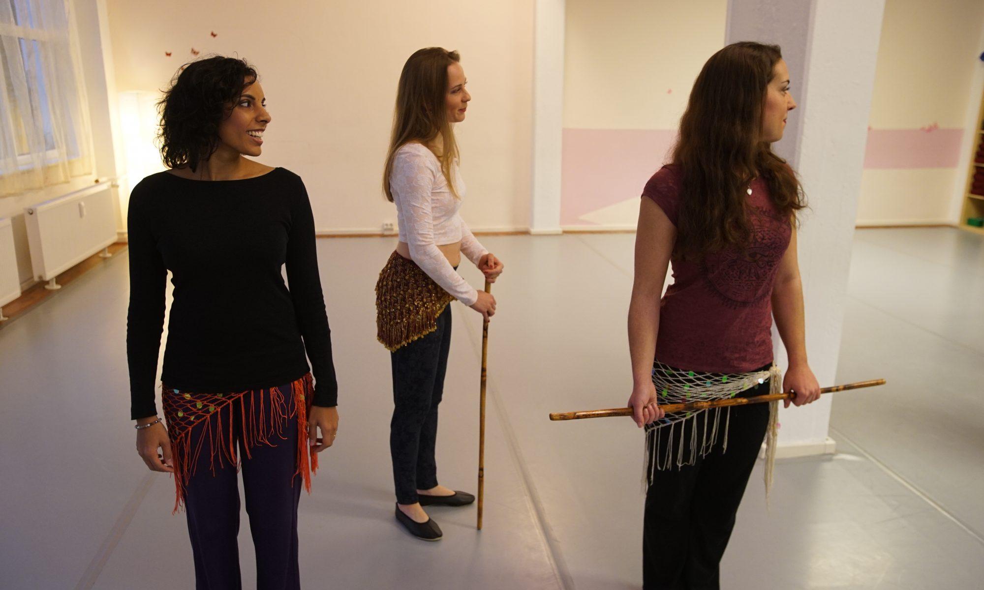 Hilfen beim Erlenen des Orientalischen Tanzes