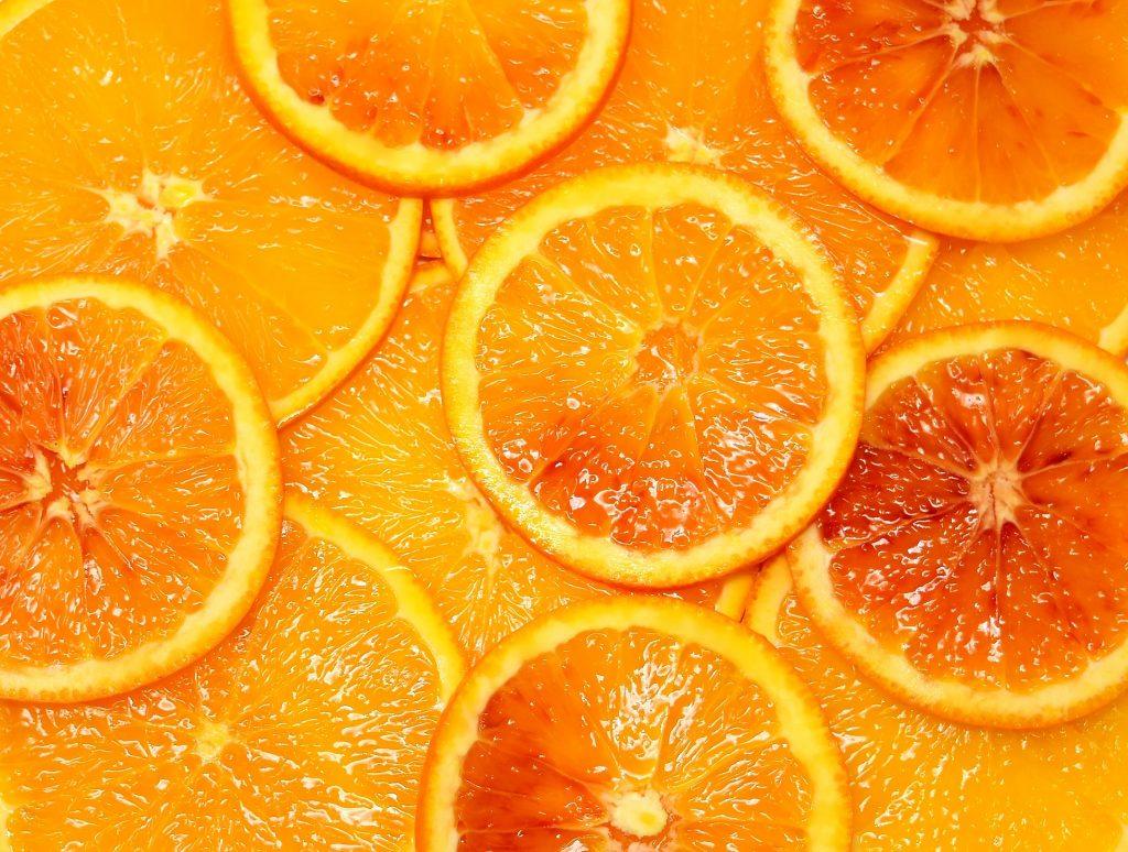 """Das Fasziensystem """"in einer Orange"""" - Foto: Pixabay"""