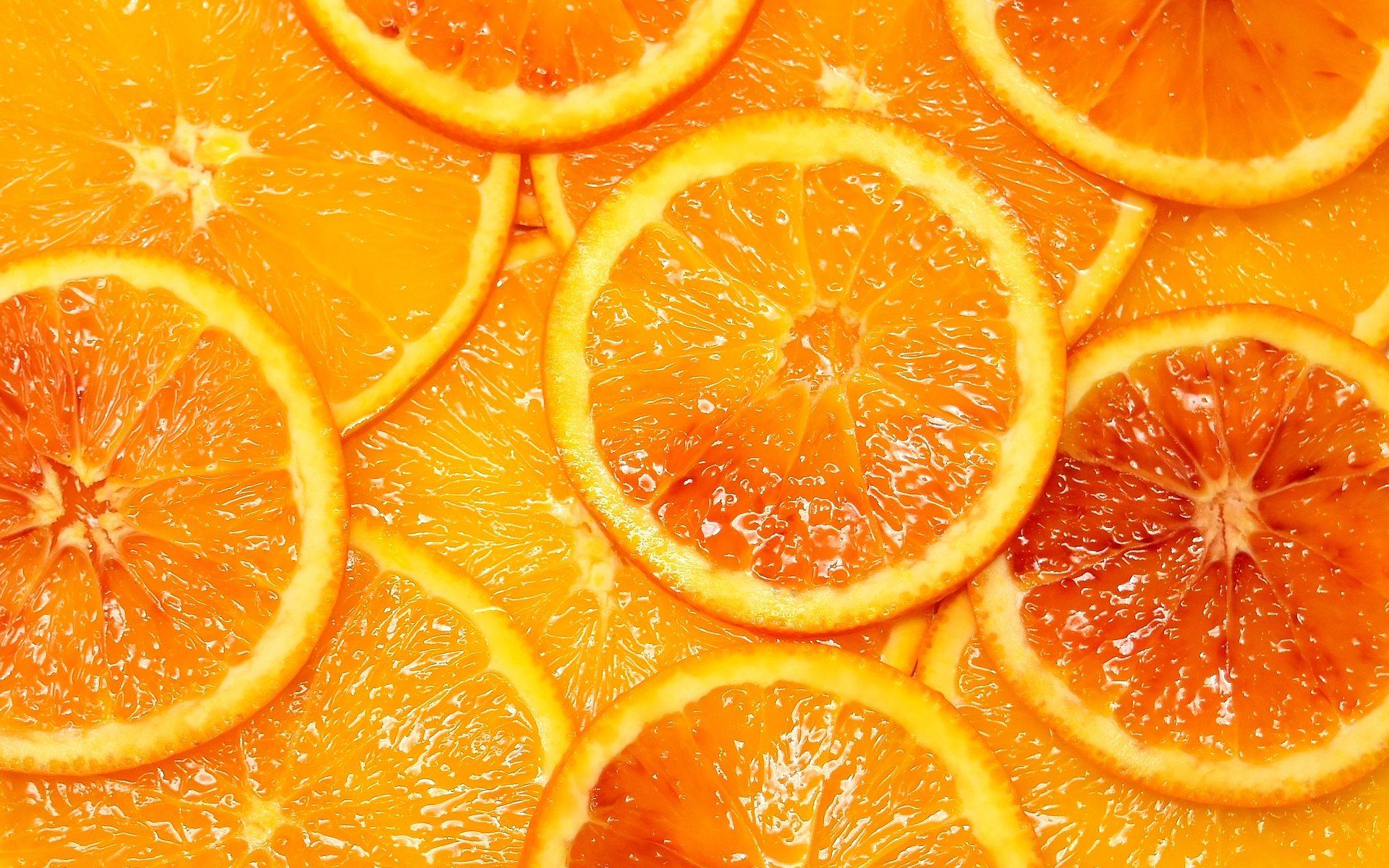 Das Fasziensystem in einer Orange - Foto: Pixabay