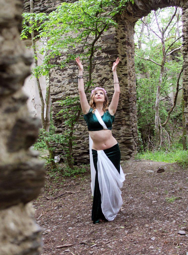 Lea - kreativ und nicht auf einen Tanzstil beschränkt. Foto: C. Zimmermann