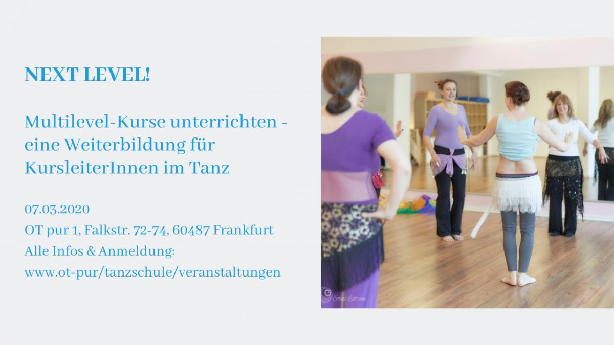 Multilevelkurse unterrichten - Weiterbildungsangebote für Tanzlehrer