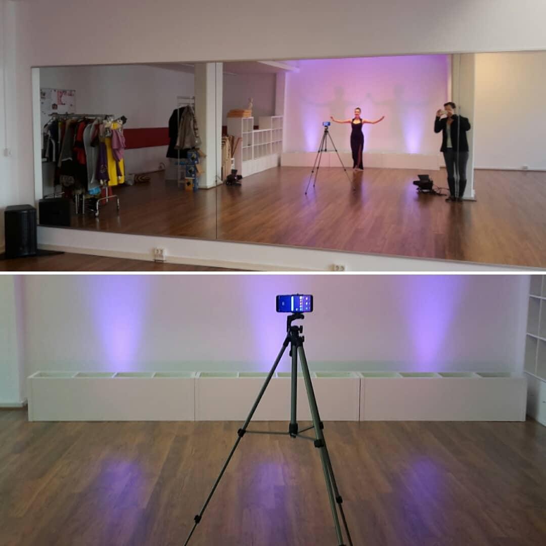 Onlineklassen im Tanz
