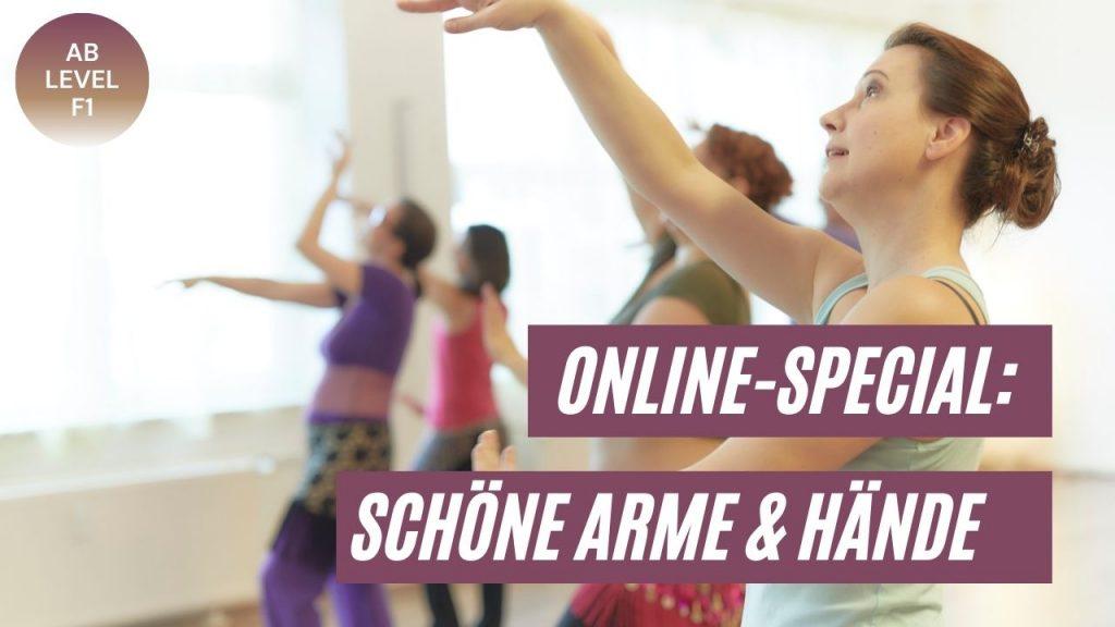 Schöne Arme & Hände im Orientalischen Tanz - Special mit Hanan Kadur - Foto: Sabuas Lichtraum