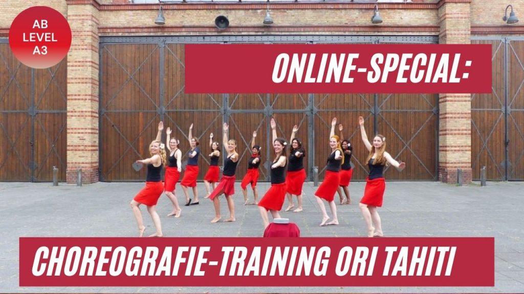 Choreografie-Special Ori Tahiti mit Natasha - Foto: S. Weide