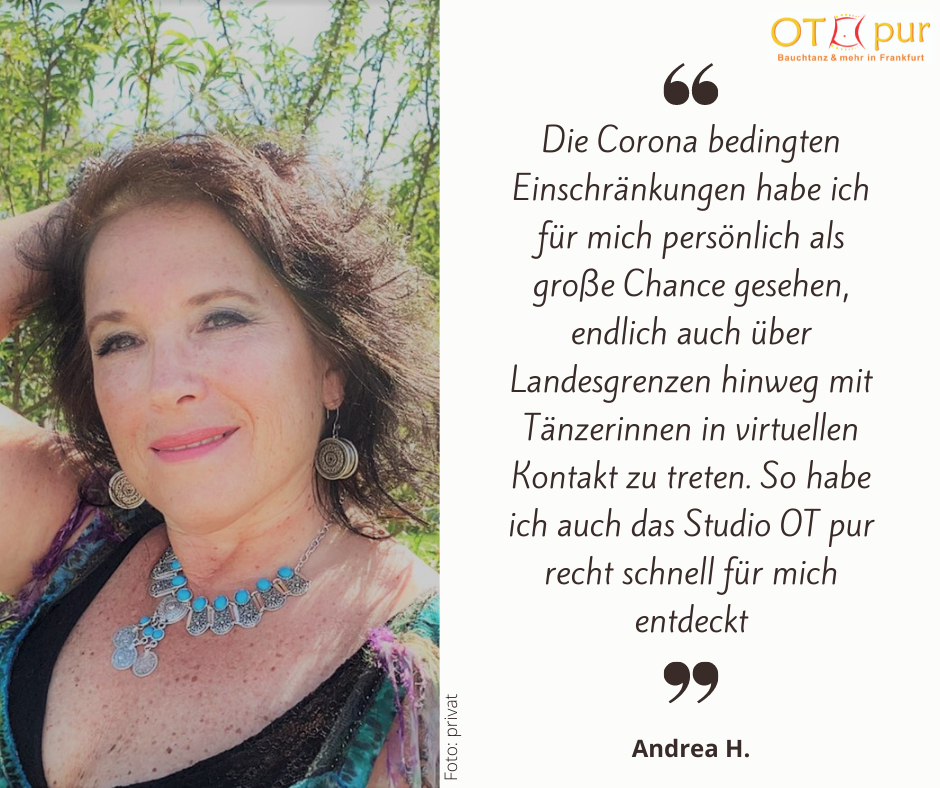 Andrea H. - Online-Teilnehmerin bei OT pur - Foto: privat