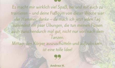 Andrea H. - Online-Kursteilnehmerin im OT pur